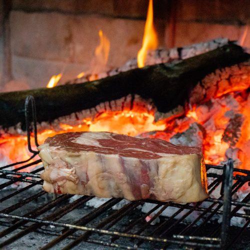Carne a la brasa Murcia
